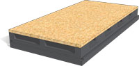 NORD AIRWIND GRAPHITE, Ventilated roof panels with OSB3 layer